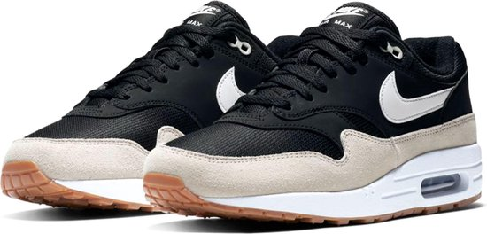 air max 1 zwart heren