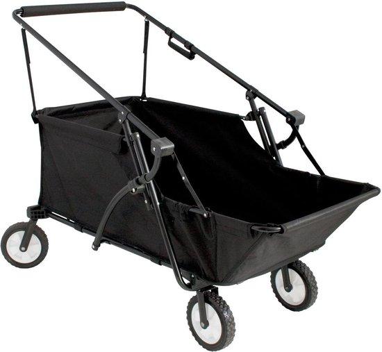 Eurotrail Caddy - Bagage Wagen - Zwart