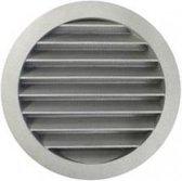 Ventilatieshop Rond buitenluchtrooster - Ø 100mm - aluminium - fijnmazig muggengaas