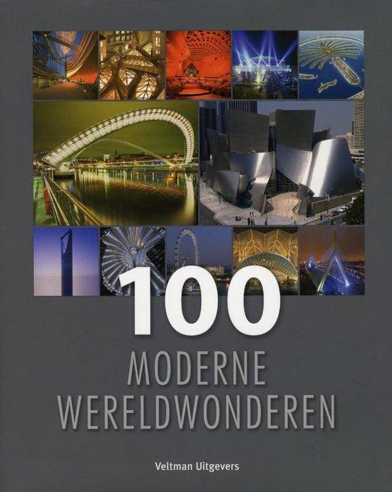 Cover van het boek '100 moderne wereldwonderen'