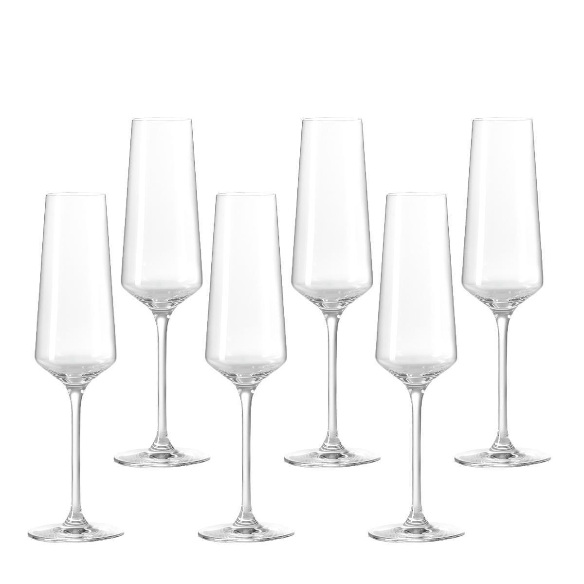 Leonardo Puccini Champagneglas - 280 ml - 6 stuks