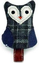 Designed by Lotte Poxi - Kattenspeelgoed - Textiel - Grijs - 7,5 cm