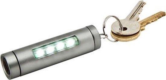 True Utility minizaklamp Sidelite 80 lumen - aluminium