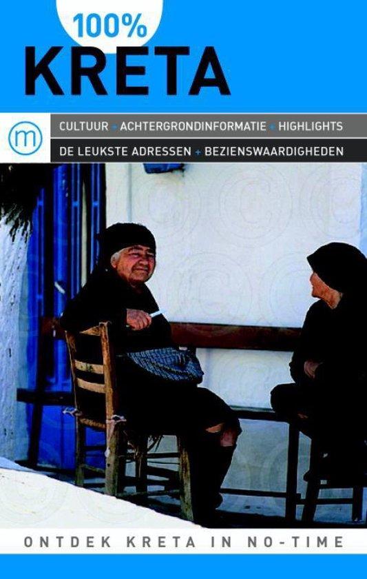 Cover van het boek '100% Kreta' van Ida F. Ferdinand