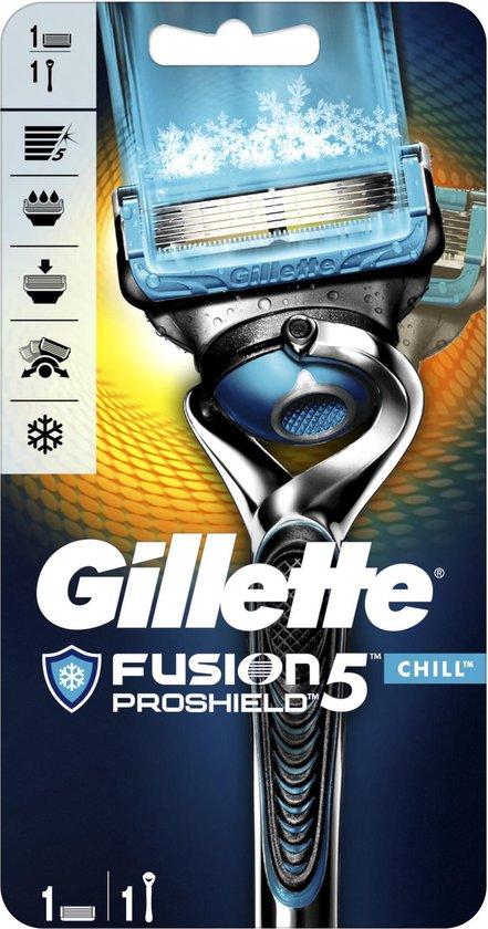Gillette Fusion Proshield Chill met Flexball Technologie Scheersysteem - Scheermes