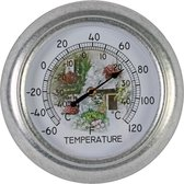 Thermometer analoog rond 25 cm