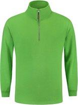 Tricorp 301010 Sweater Ritskraag Lime maat XL