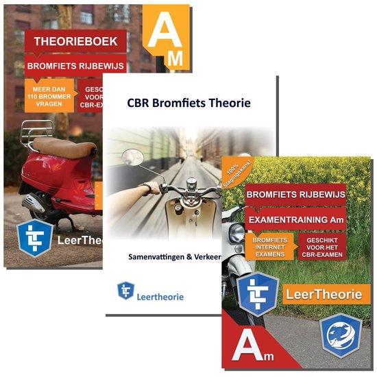 Bromfiets Theorieboek + 20 uur Online Oefenen + Samenvatting - Rijbewijs AM - Scooter CBR