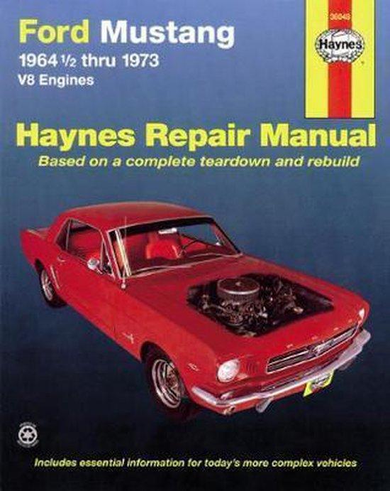 Boek cover Ford Mustang V8 (July 64 - 73) van J. H. Haynes (Paperback)
