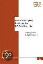 Gemeinnützigkeit im Lichte des EG-Beihilferechts