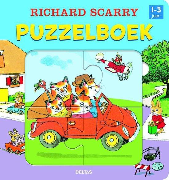 Richard Scarry - Puzzelboek - Richard Scarry |