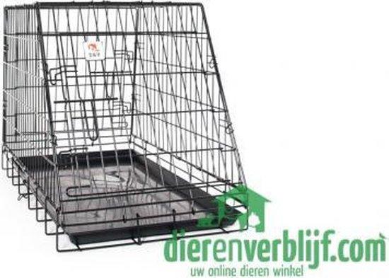 Autobench - 78x49x57cm - Zwart