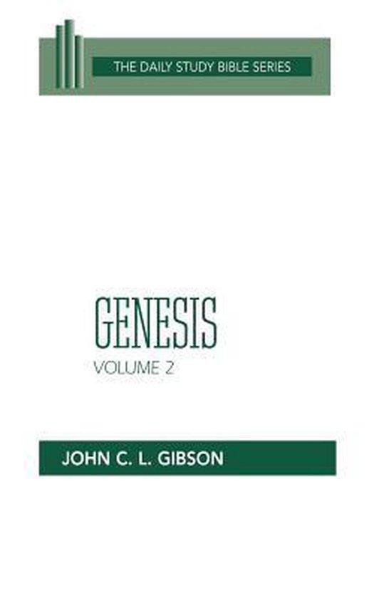 Boek cover Genesis, Volume 2 van John C. L. Gibson