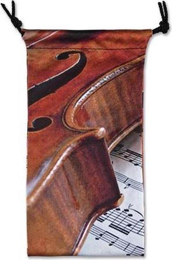 Glasses case Violin/Sheet music