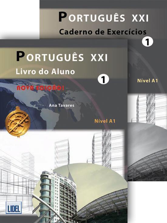 Boekomslag voor Português XXI - nova ediçao 1 livro do aluno + cd-audio + exercícios