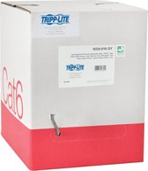 Tripp Lite N224-01K-GY netwerkkabel 304,8 m Cat6 Grijs