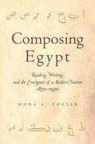 Boek cover Composing Egypt van Hoda A. Yousef