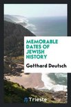 Memorable Dates of Jewish History