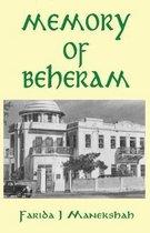 Omslag Memory of Beheram