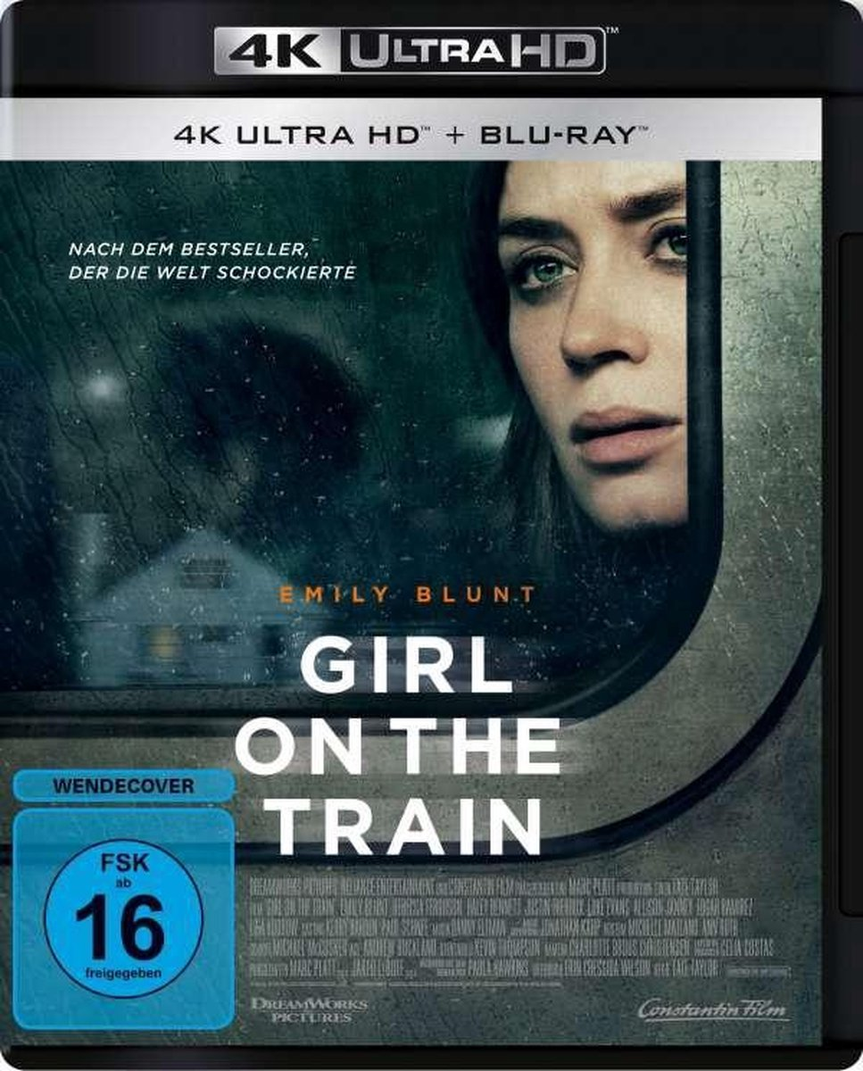 Girl on the Train (Ultra HD Blu-ray & Blu-ray)-