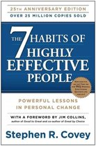 Boek cover 7 habits of highly effective people van Stephen Covey (Onbekend)