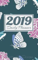2019 Daily Planner Butterfly Design