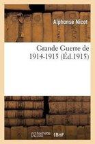 Grande Guerre de 1914-1915