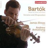 Violin Sonatas Nos.1&2/Rhapsodies Nos.1&2/...