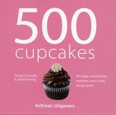 Boek cover 500 cupcakes van Fergal Connolly (Hardcover)