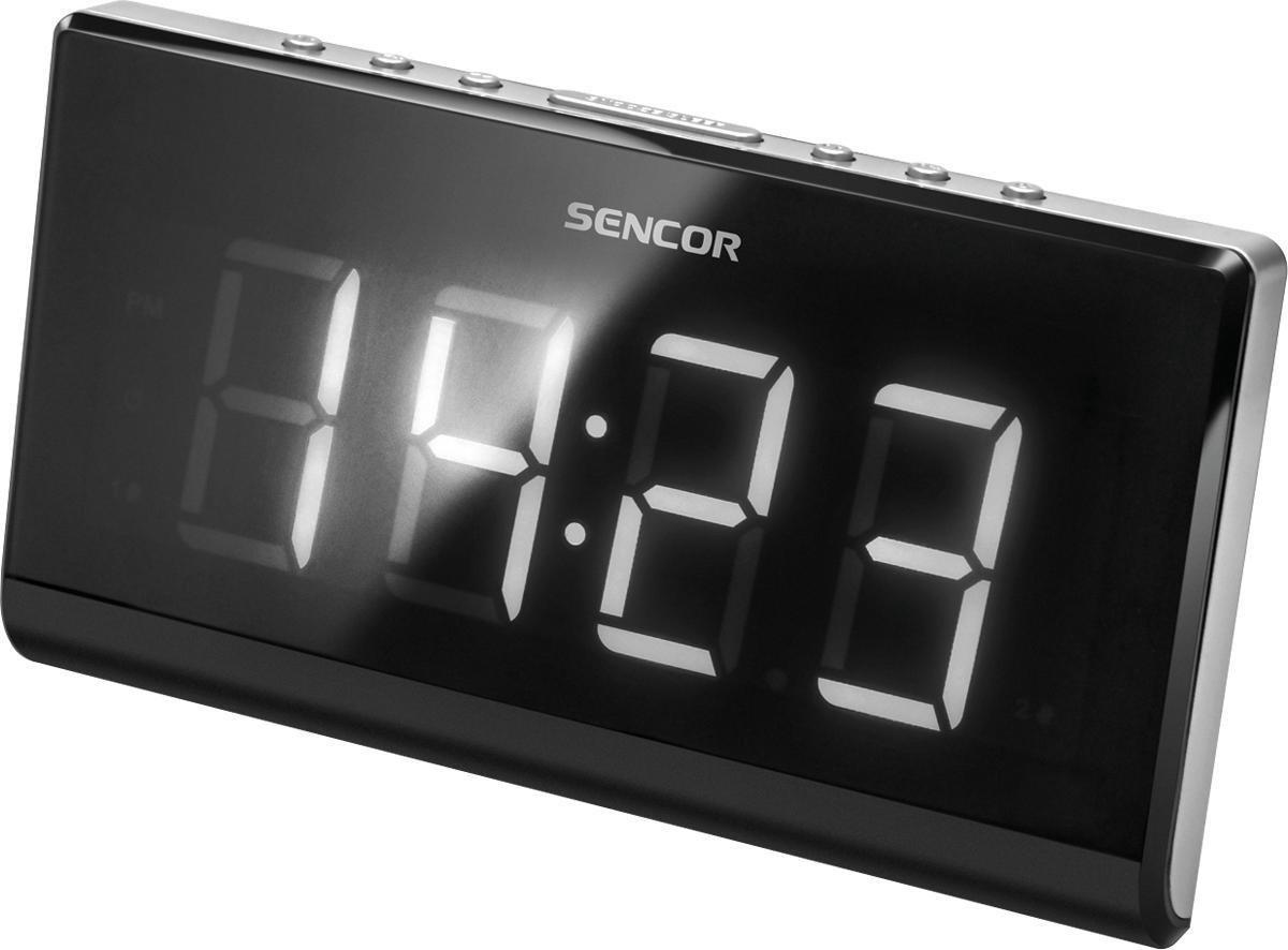Sencor SRC 340 - Klok Radio Digitaal - Zwart