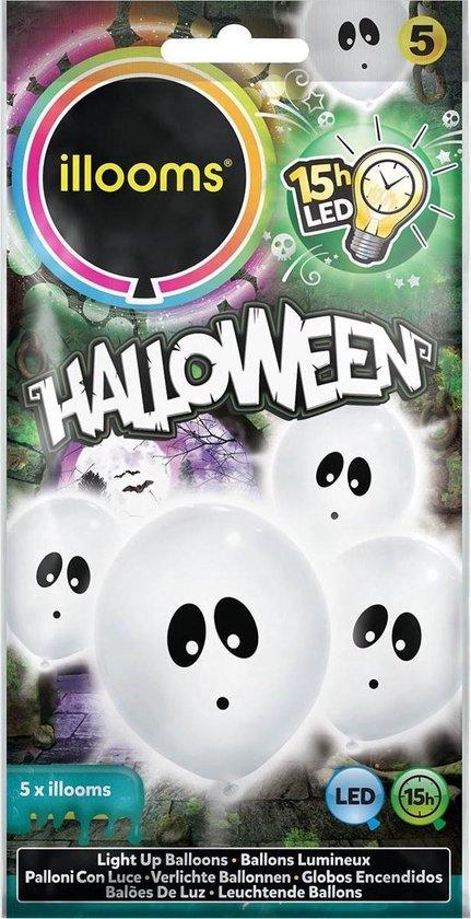 Illooms halloween spook 23 cm 5 stuks