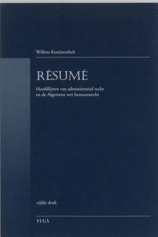 Resume - W. Konijnenbelt  
