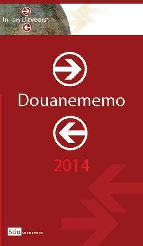 Douanememo 2014 - M.R. Oudenaarden | Fthsonline.com