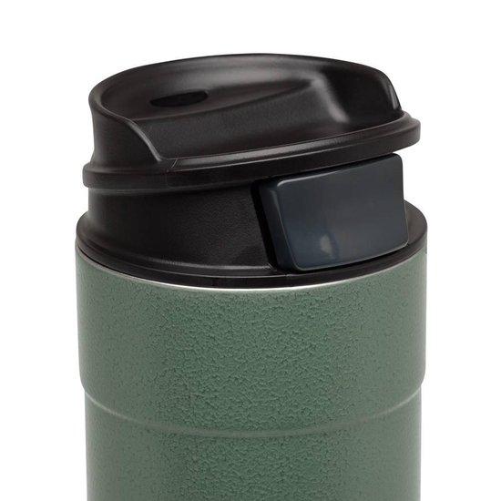 Stanley Classic One Hand Vacuum Mug Thermosbeker - 473 ml - RVS - Hammertone Green