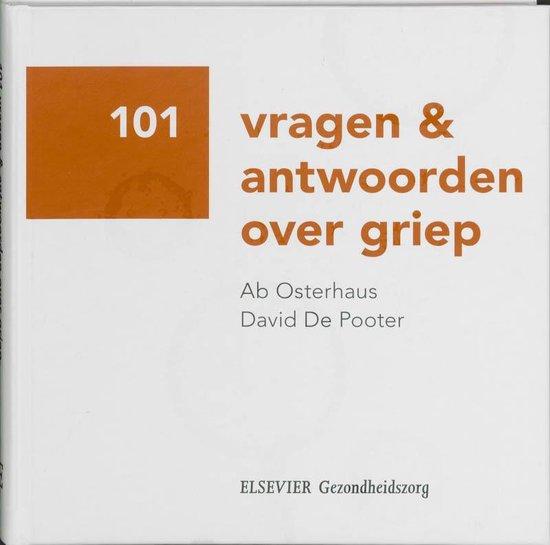 Cover van het boek '101 vragen en antwoorden over Griep' van A. Osterhaus