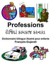 Fran ais-Gujarati Professions Dictionnaire Bilingue Illustr Pour Enfants