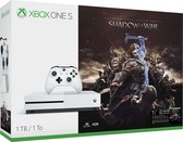 Xbox One S console 1 TB + Shadow Of War