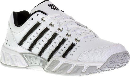K-Swiss BIGSHOT LIGHT LTR OMNI - White/Black - Tennisschoenen Maat 44 - 05369129M
