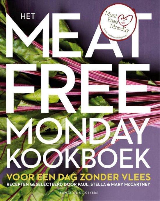Boek cover Het meat free monday kookboek van Paul McCartney (Hardcover)