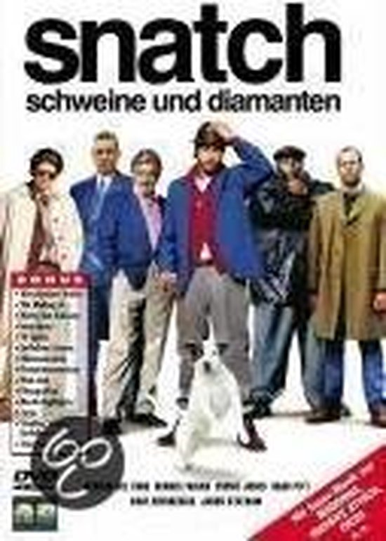 Cover van de film 'Snatch-Schweine &  Diamanten'