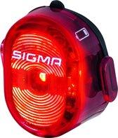 Sigma Nugget II Flash Fiets Achterlicht Fiets - Li-ion accu - USB oplaadfunctie