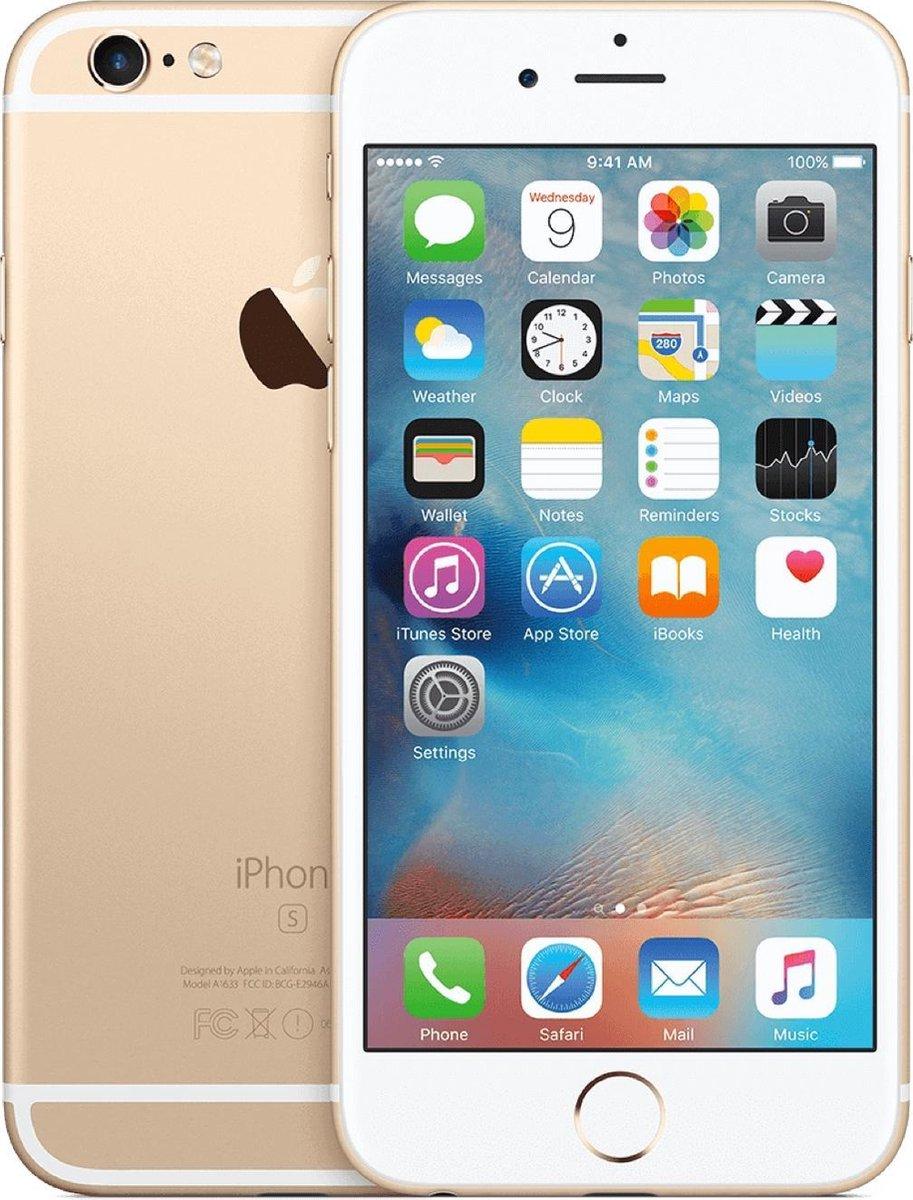 Apple iPhone 6s - Refurbished door Forza - A grade (Zo goed als nieuw) - 32GB - Goud