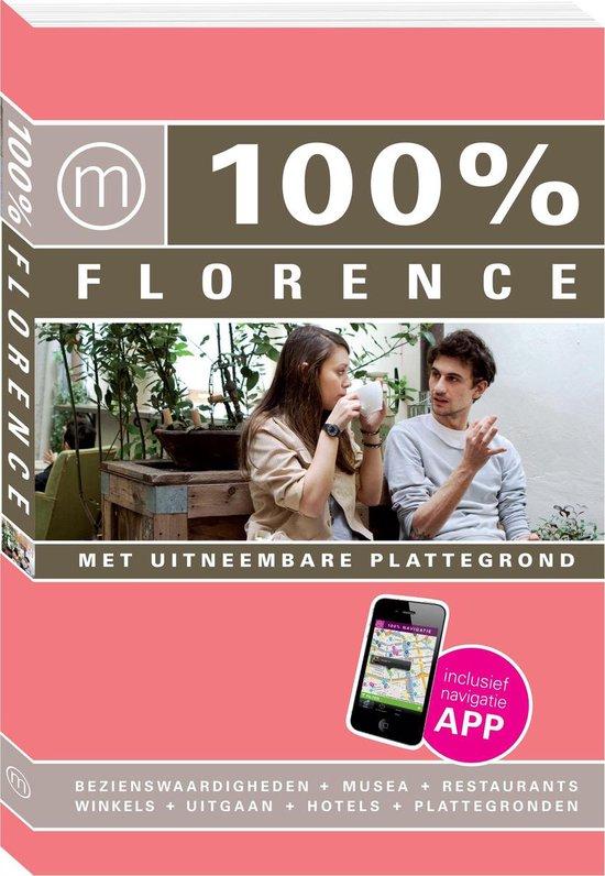 100% stedengidsen - 100% Florence - Roos van der Wielen |