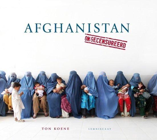 Cover van het boek 'Afghanistan ongecensureerd'