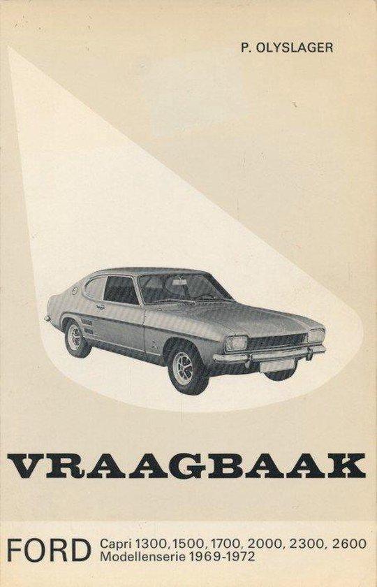 1300 1969-1972 Vraagbaak ford capri - Olyslager |