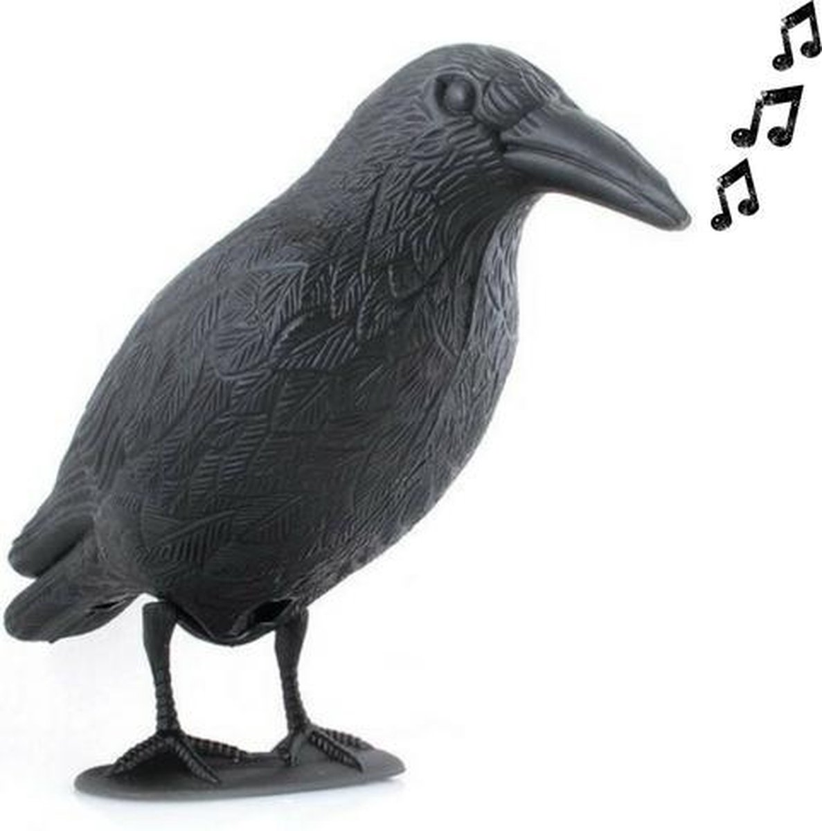 Vogelverschrikker met GELUID - sensor tot 1 meter - kraai - duivenverjager