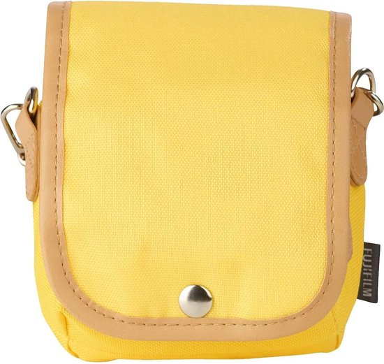 Fujifilm Instax Mini 8 Tas  - met draagband - Geel