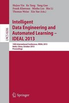 Intelligent Data Engineering and Automated Learning -- IDEAL 2013