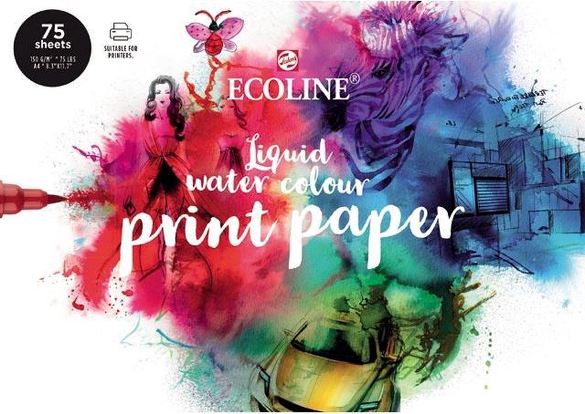Talens Ecoline print papier - wit - FSC mix