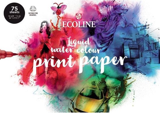 Afbeelding van Talens Ecoline Printing Paper - FSC mix - Printpapier speelgoed